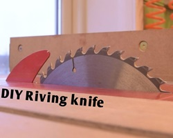 Riving knife